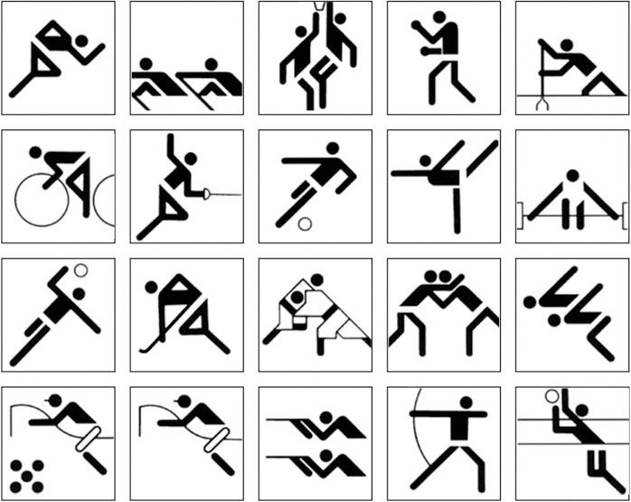 All Sport Symbols Clipart Library
